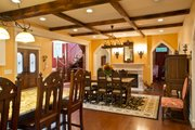 Craftsman Style House Plan - 3 Beds 2.5 Baths 3477 Sq/Ft Plan #928-244 Interior - Dining Room