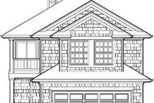 Architectural House Design - Traditional Exterior - Rear Elevation Plan #48-194