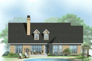 Ranch Style House Plan - 3 Beds 2 Baths 1521 Sq/Ft Plan #929-352 Exterior - Rear Elevation