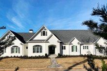 Dream House Plan - Craftsman Exterior - Front Elevation Plan #437-96