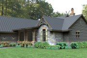 Craftsman Style House Plan - 3 Beds 2.5 Baths 2234 Sq/Ft Plan #120-180 Exterior - Front Elevation