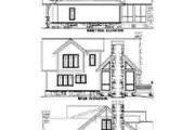 Craftsman Style House Plan - 3 Beds 3.5 Baths 2019 Sq/Ft Plan #71-129 Exterior - Rear Elevation