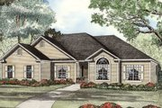 European Style House Plan - 4 Beds 3 Baths 2022 Sq/Ft Plan #17-1111 Exterior - Other Elevation