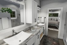 Cottage Interior - Master Bathroom Plan #120-273