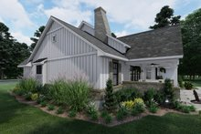 Home Plan - Farmhouse Exterior - Other Elevation Plan #120-265