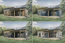 Cabin Photo Plan #924-9