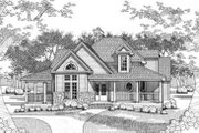Farmhouse Style House Plan - 3 Beds 3 Baths 2390 Sq/Ft Plan #120-118 Exterior - Front Elevation
