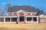 Southern Style House Plan - 5 Beds 5.5 Baths 5083 Sq/Ft Plan #119-198 Photo