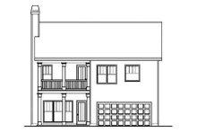 Traditional Exterior - Rear Elevation Plan #419-210