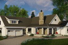 Home Plan - Farmhouse Exterior - Front Elevation Plan #51-1131