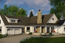 Architectural House Design - Farmhouse Exterior - Front Elevation Plan #51-1131