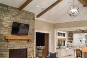 Colonial Style House Plan - 4 Beds 5 Baths 4903 Sq/Ft Plan #48-642
