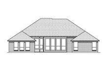 House Plan Design - European Exterior - Rear Elevation Plan #84-479