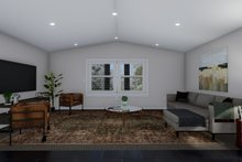 House Plan Design - Farmhouse Interior - Family Room Plan #1060-82