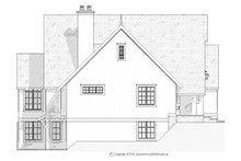 House Plan Design - European Exterior - Other Elevation Plan #901-93