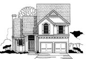 European Style House Plan - 3 Beds 2.5 Baths 1644 Sq/Ft Plan #67-122