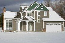 Home Plan - Craftsman Exterior - Other Elevation Plan #48-391