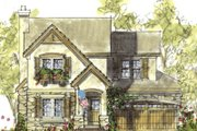 Farmhouse Style House Plan - 3 Beds 2.5 Baths 1649 Sq/Ft Plan #20-1218 Exterior - Front Elevation