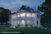 Classical Style House Plan - 3 Beds 2.5 Baths 5971 Sq/Ft Plan #930-526 Exterior - Front Elevation