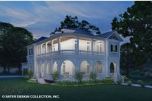 House Plan Design - Classical Exterior - Front Elevation Plan #930-526