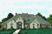 European Style House Plan - 3 Beds 3.5 Baths 3619 Sq/Ft Plan #310-1310
