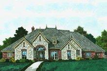 House Plan Design - European Exterior - Front Elevation Plan #310-1310