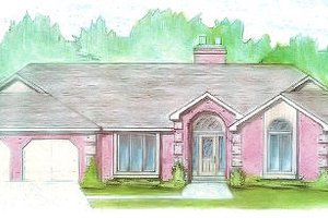 Traditional Exterior - Front Elevation Plan #421-123