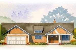 Craftsman Exterior - Front Elevation Plan #901-45