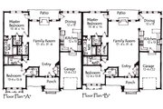 Craftsman Style House Plan - 2 Beds 2 Baths 2976 Sq/Ft Plan #921-7 Floor Plan - Main Floor Plan