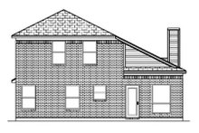 Architectural House Design - Traditional Exterior - Rear Elevation Plan #84-350