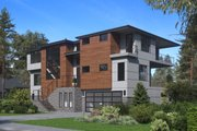 Modern Style House Plan - 5 Beds 5.5 Baths 5010 Sq/Ft Plan #1066-84 Exterior - Other Elevation