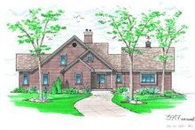 Dream House Plan - Traditional Exterior - Front Elevation Plan #23-387