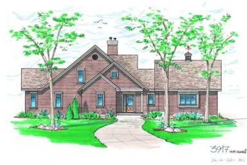Traditional Exterior - Front Elevation Plan #23-387