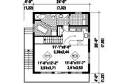 Cabin Style House Plan - 3 Beds 1 Baths 1248 Sq/Ft Plan #25-4849 Floor Plan - Upper Floor Plan