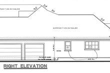 Craftsman Exterior - Other Elevation Plan #20-164