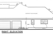 House Plan Design - Craftsman Exterior - Other Elevation Plan #20-164
