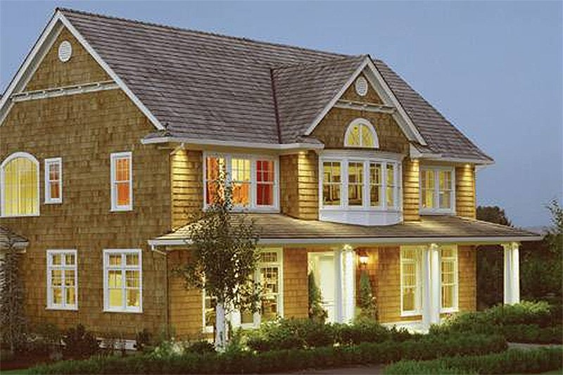 Dream House Plan - Country Exterior - Front Elevation Plan #48-237