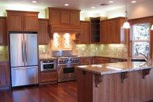 Dream House Plan - Craftsman Interior - Kitchen Plan #124-622