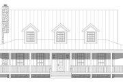 Country Style House Plan - 3 Beds 3 Baths 2662 Sq/Ft Plan #932-168 Exterior - Front Elevation