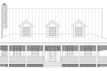 House Plan Design - Country Exterior - Front Elevation Plan #932-168
