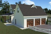 Farmhouse Style House Plan - 4 Beds 3.5 Baths 3290 Sq/Ft Plan #1070-36 Exterior - Other Elevation