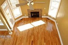 Upstairs looking down - 1900 square foot Cottage home