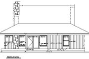 Country Style House Plan - 2 Beds 2 Baths 1018 Sq/Ft Plan #116-122