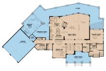 Contemporary Floor Plan - Main Floor Plan Plan #923-86