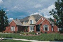 Home Plan - European Exterior - Front Elevation Plan #20-287