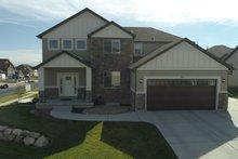 Dream House Plan - Craftsman Exterior - Front Elevation Plan #1060-57