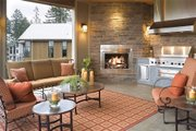 Craftsman Style House Plan - 4 Beds 3.5 Baths 5155 Sq/Ft Plan #48-607 Exterior - Outdoor Living