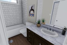 Ranch Interior - Bathroom Plan #1060-38
