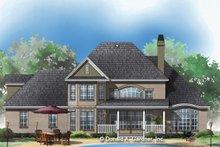 Traditional Exterior - Rear Elevation Plan #929-341
