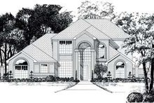 Home Plan Design - Traditional Exterior - Front Elevation Plan #62-112